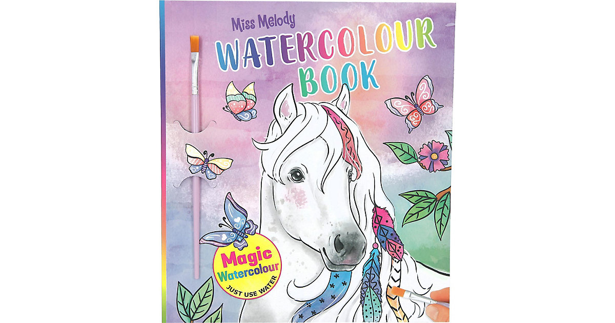 Buch - Miss Melody Water Colours Book