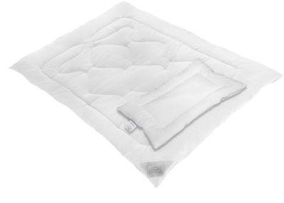 120 x 90 cm Baby´s Comfort Steppdecke und Kissen für Kinderbett