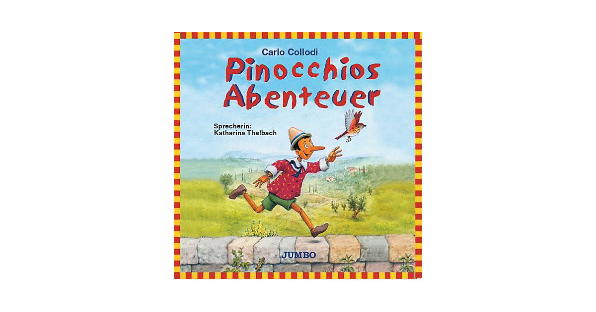 Pinocchios Abenteuer, 1 Audio-CD Hörbuch