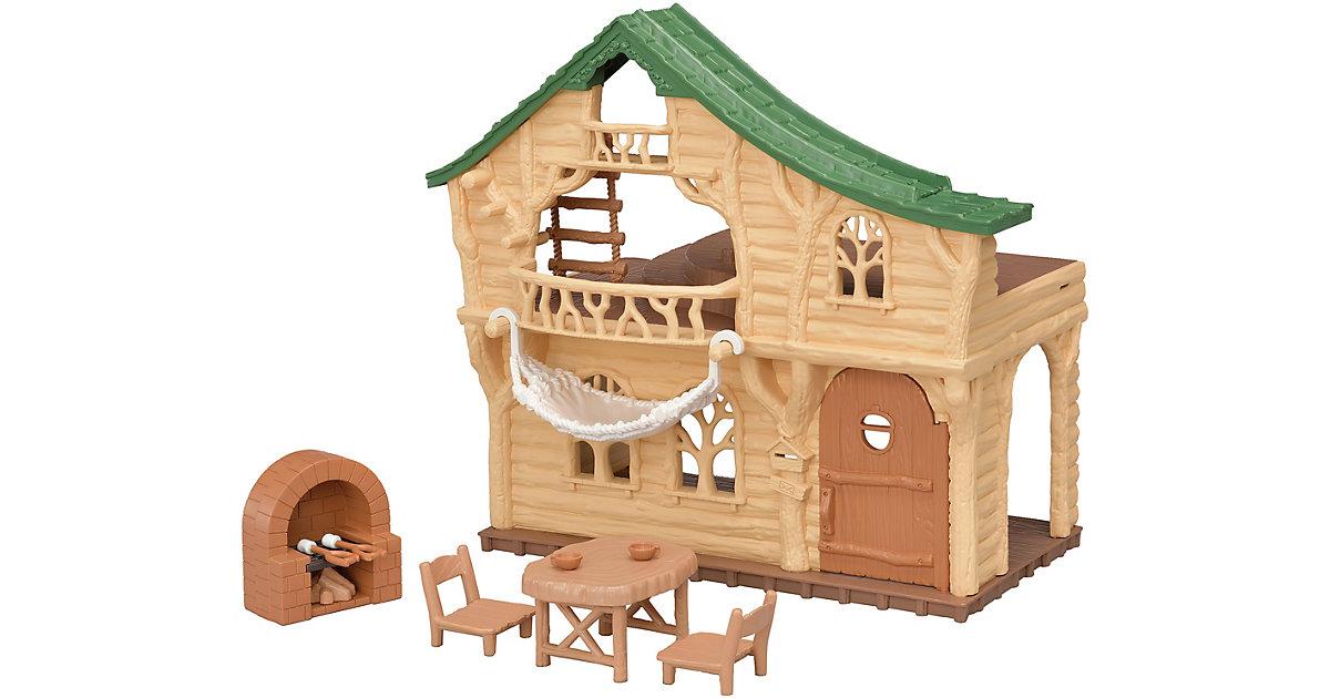 Sylvanian Families Haus am See bunt
