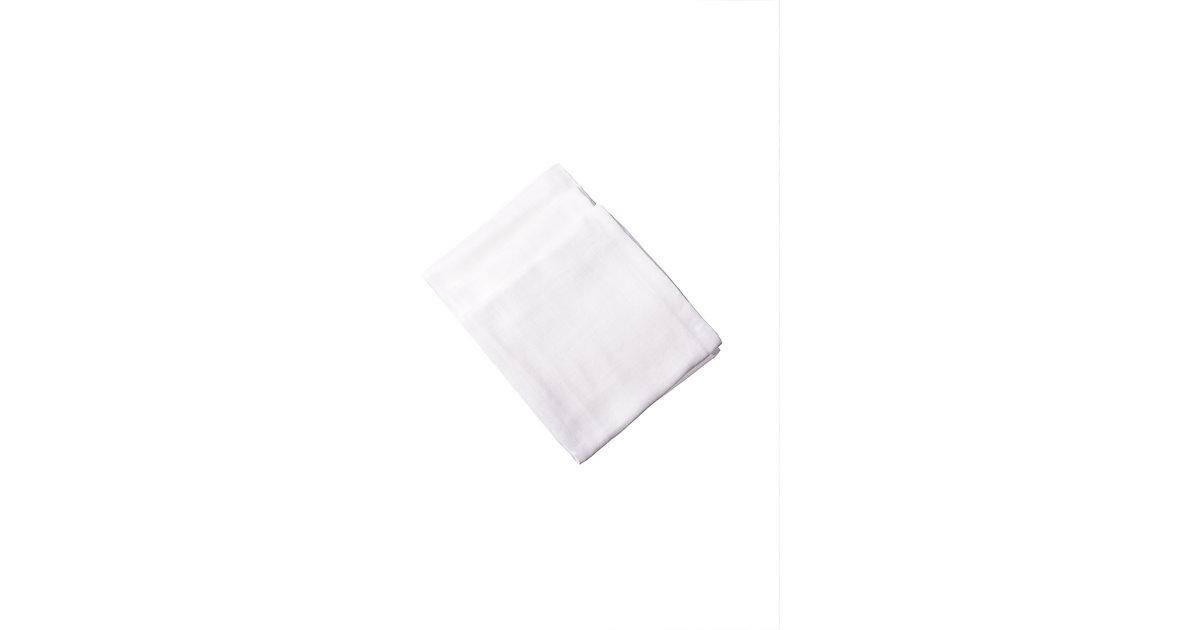 Liliput · Mullwindeln weiß, 3er Pack Gr. 80 x 80