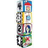 Мягкие кубики WinFun Животные