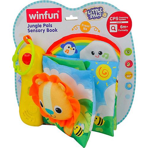 Сенсорная книжка WinFun Друзья джунглей от WinFun