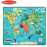 Игровой коврик Melissa&Doug Мир