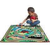 Игровой коврик Melissa&Doug Город, 99х84 см