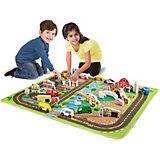 Игровой коврик Melissa&Doug Город делюкс, 100х91 см