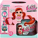Кукла LOL Surprise! #Hairvibes с прядями для причесок