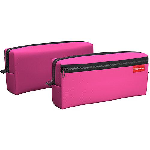 Пенал квадро Erich Krause Neon Pink - розовый от Erich Krause