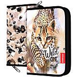 Пенал-книжка Erich Krause Wild Cat, без наполнения