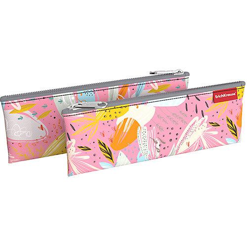 Пенал-конверт Erich Krause Spring Style - розовый от Erich Krause