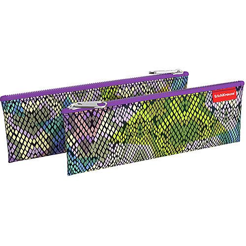 Пенал-конверт Erich Krause Purple Python - сиреневый от Erich Krause