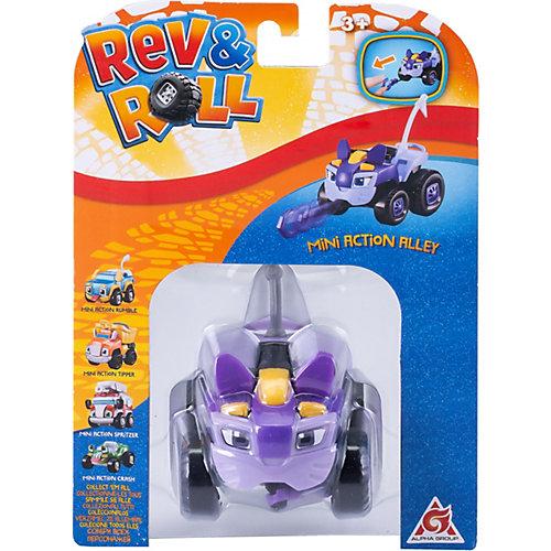 Мини-машинка Rev&Roll Аллей от Alfa Group