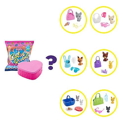 Игровой набор Barbie Color Reveal Домашние животные, волна 1 от Mattel