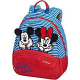 Рюкзак Samsonite Disney Ultimate 2.0 Минни и микки полоски, размер  S