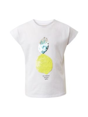 TOM TAILOR M/ädchen T-Shirts//Tops T-Shirt mit Print