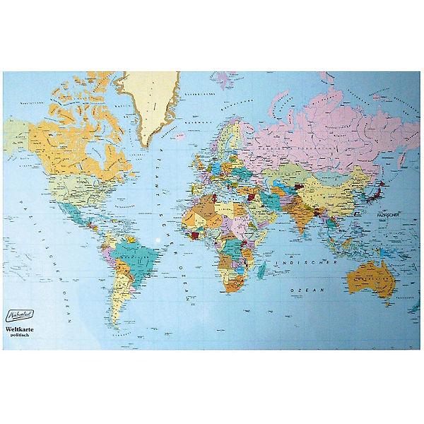 Schreibunterlage Weltkarte Mytoys