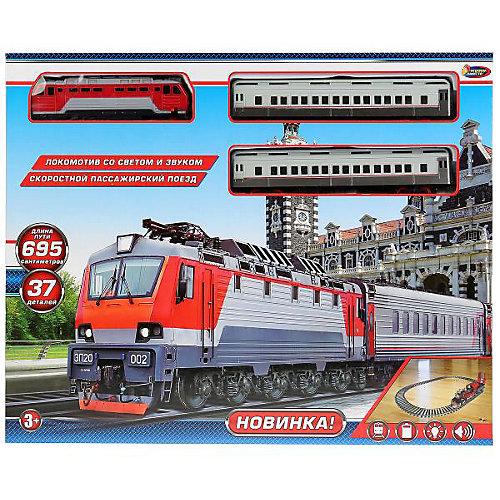 Железная дорога Играем вместе  «Пассажирский поезд», 37 элементов от Играем вместе