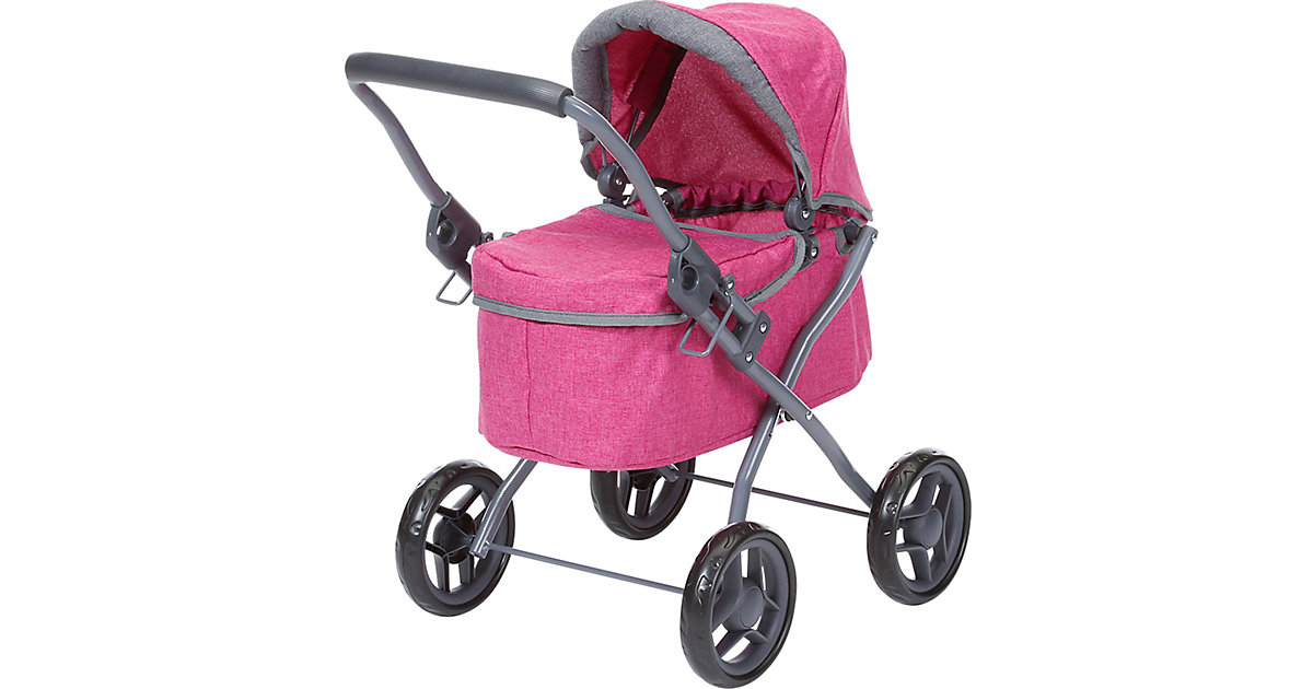 Puppenwagen Mini Lili - berry pink