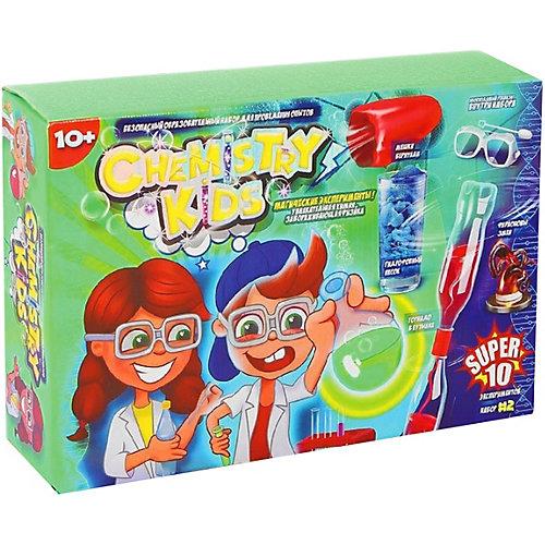 """Набор экспериментов Danko Toys Chemistry Kids """"Магические эксперименты"""" №2, 10 опытов от Danko Toys"""