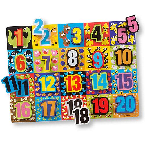 Пазл Melissa&Doug Мои первые пазлы Гигантские цифры от Melissa & Doug