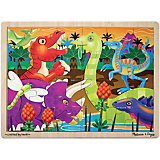 Пазл Melissa&Doug Мои первые пазлы Динозавры
