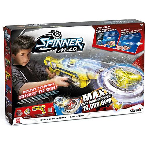 Одиночный бластер Silverlit Spinner M.A.D от Silverlit
