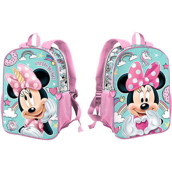 Wende-Kinderrucksack Minnie Mouse Unicorn Dreams