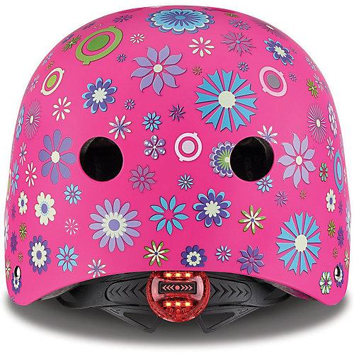 Шлем Globber Elite Lights - розовый от Globber