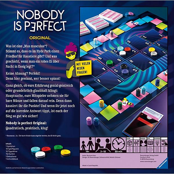 Nobody Is Perfect Spiel App