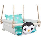 "Качели с подушками Hotenok ""Пингвин на снегу"""