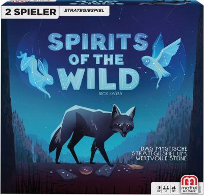 Mattel Games Spirits of the Wild, Gesellschaftsspiel, Strategiespiel, 2 Spieler, Spirit