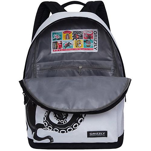 Рюкзак Grizzly RQ-007-5 №2 - черный/белый от Grizzly
