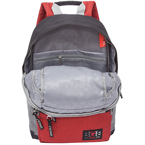 Рюкзак Grizzly RQ-008-2 №4 - серый от Grizzly