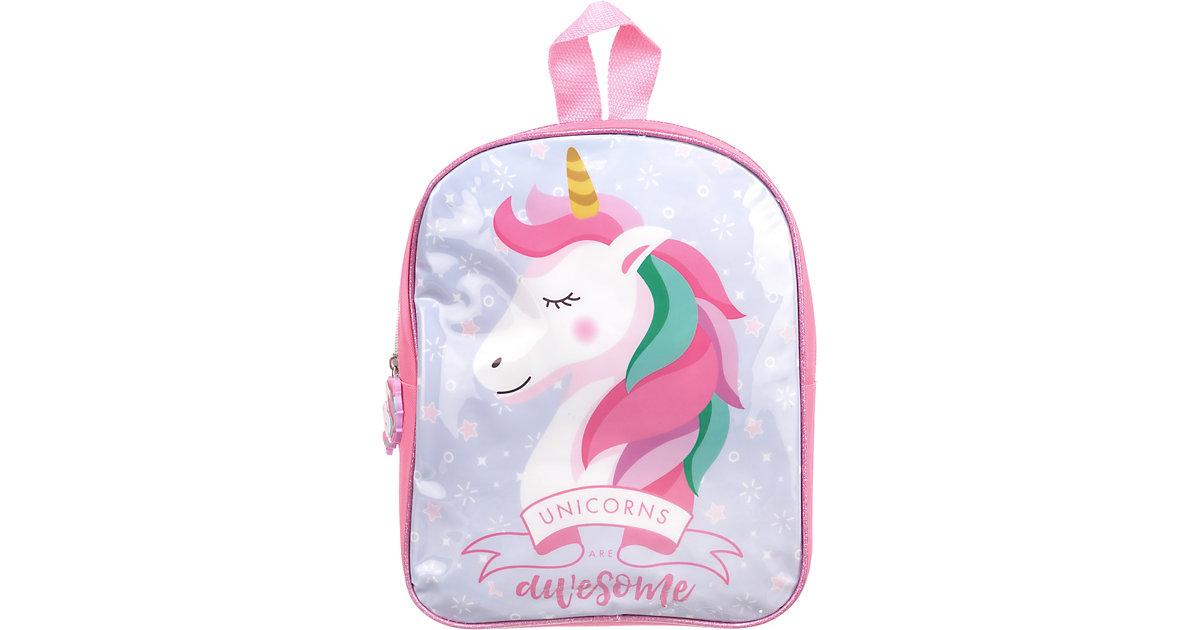 "Kinderrucksack ""Unicorns are awesome"" pink"