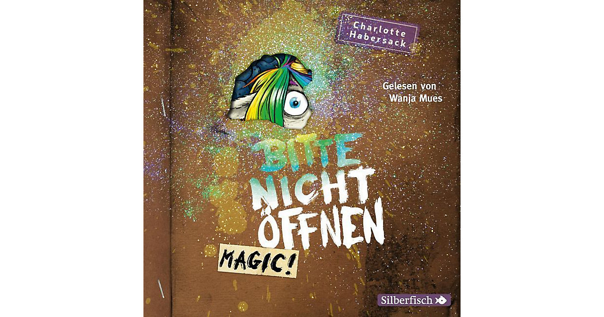 Bitte nicht öffnen - Magic!, 2 Audio-CD Hörbuch