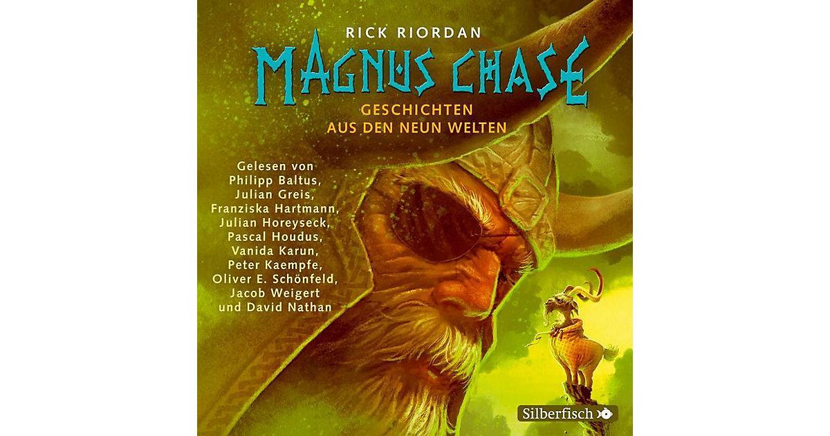 Magnus Chase - Geschichten aus den neun Welten, 3 Audio-CD Hörbuch
