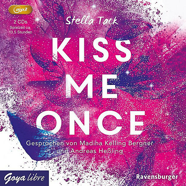 Kiss me once, 2 Audio-CD, MP3