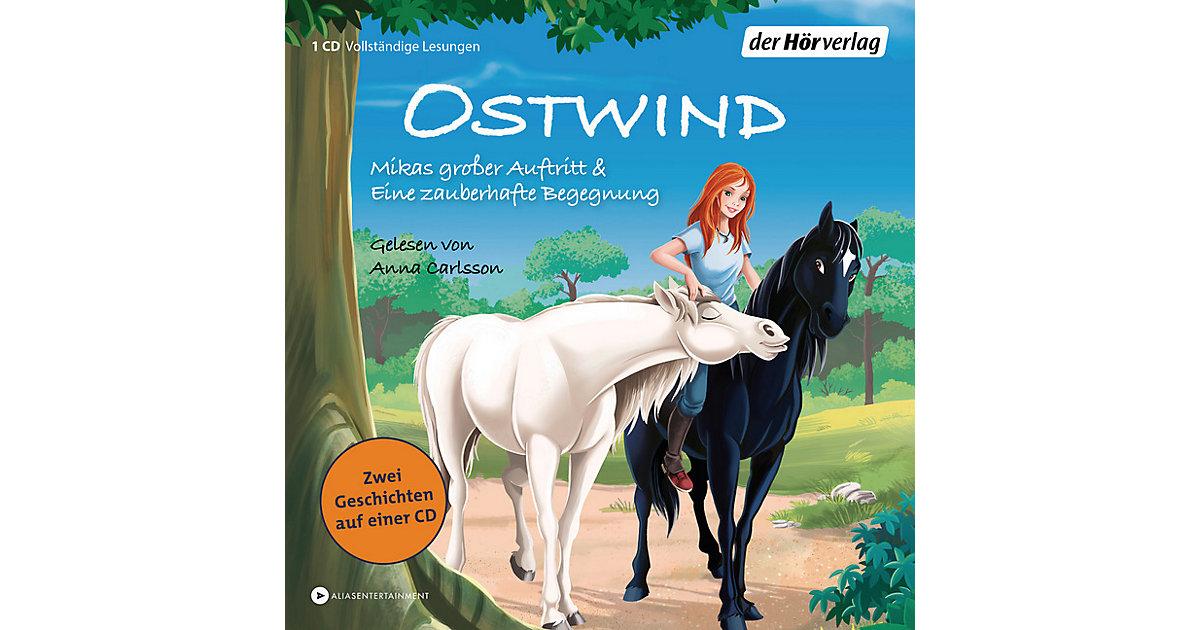 Ostwind: Mikas großer Auftritt & Eine zauberhafte Begegnung, 1 Audio-CD Hörbuch