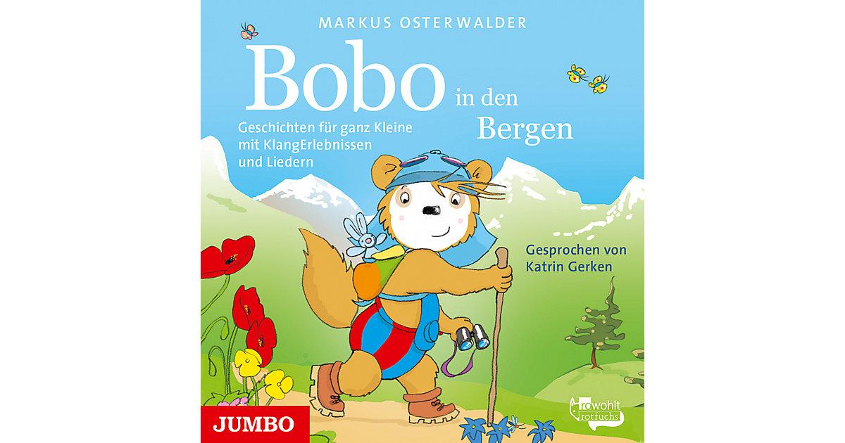 Bobo Siebenschläfer in den Bergen., Audio-CD Hörbuch