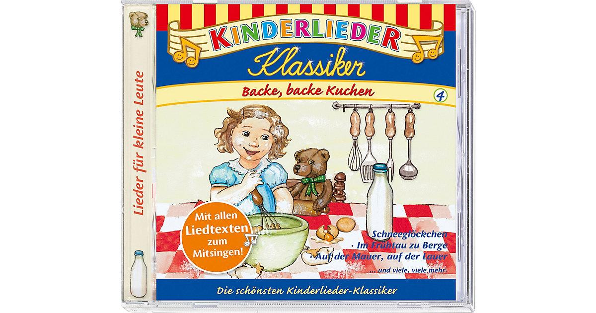 CD Kinderlieder Klassiker 04: Backe, backe Kuchen