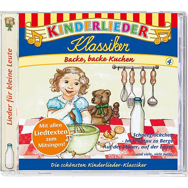 CD Kinderlieder Klassiker 04: Backe, Backe Kuchen, Kiddinx | MyToys
