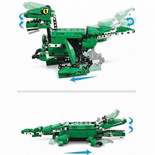 Конструктор Cada Крокодил/Динозавр, 450 деталей от Cada