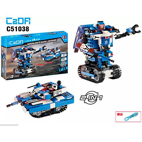 Конструктор Cada Робот 2 в 1, 380 деталей от Cada