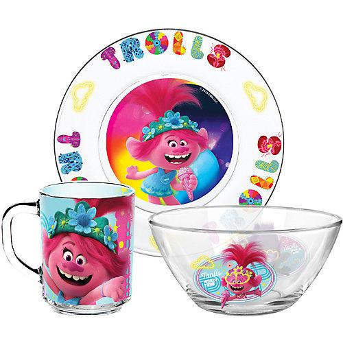 Набор посуды ND Play Тролли 2 Поп, 3 предмета от ND Play