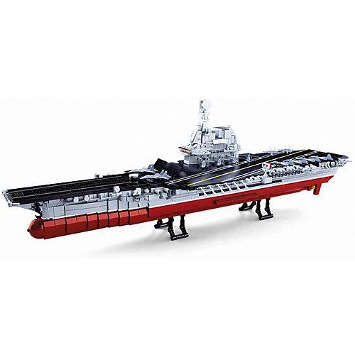 """Конструктор Sluban Флот """"Авианосец"""", 1:450, 1636 деталей от Sluban"""