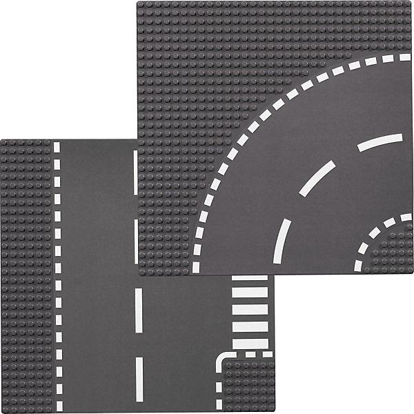 LEGO 7281 City: Kurve/T-Kreuzung (2 Teile), LEGO City | myToys