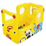 Надувной игровой центр Bestway Школьный автобус Lil' Learner, 137х96х96 см
