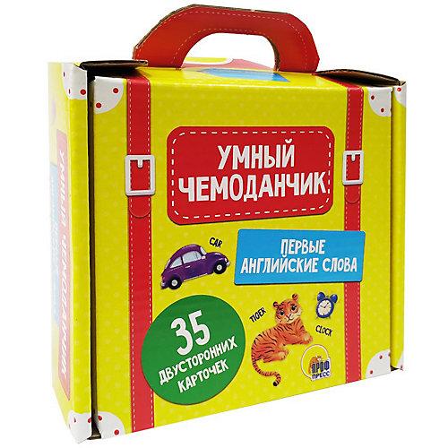 """Умный чемоданчик """"Первые английские слова"""" от Проф-Пресс"""