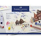 Пастель Faber-Castell Soft pastels, 36 цветов