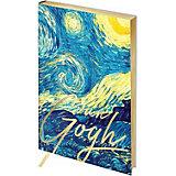 Записная книжка Greenwich Line Vision Van Gogh Night А5, 80 листов